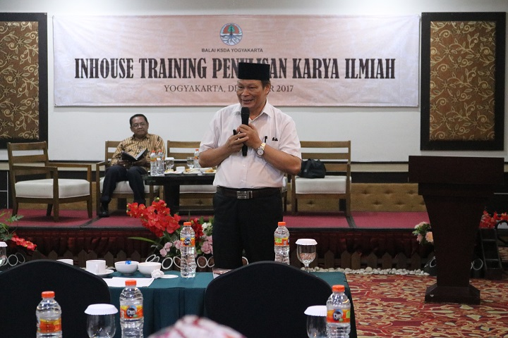 Inhouse training karya ilmiah